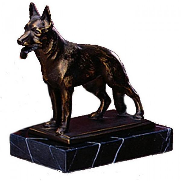 Edle Figur Schäferhund Wachhund Sportauszeichnung