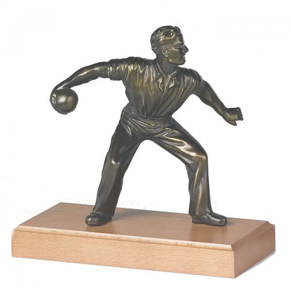 Figur Kegel Sport Herren Auszeichnung Edelstahltrophäe