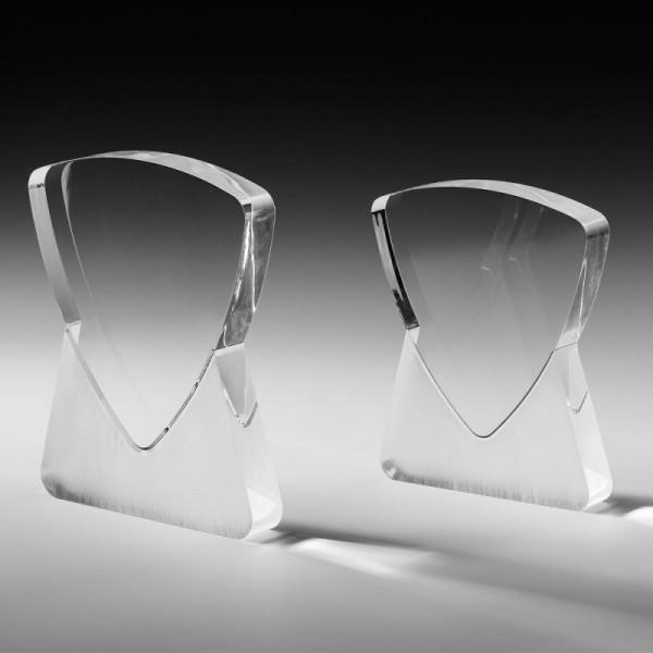 "Acrylglas Trophäe ""light crusher"""