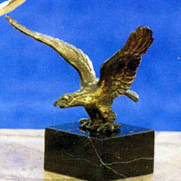 Exklusiver Pokal Siegesadler Sportehrung Metalltrophäe
