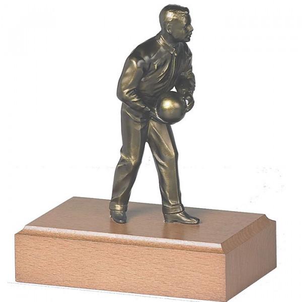 Sport Figur Kegeln Herren Verein Auszeichnung Trophy