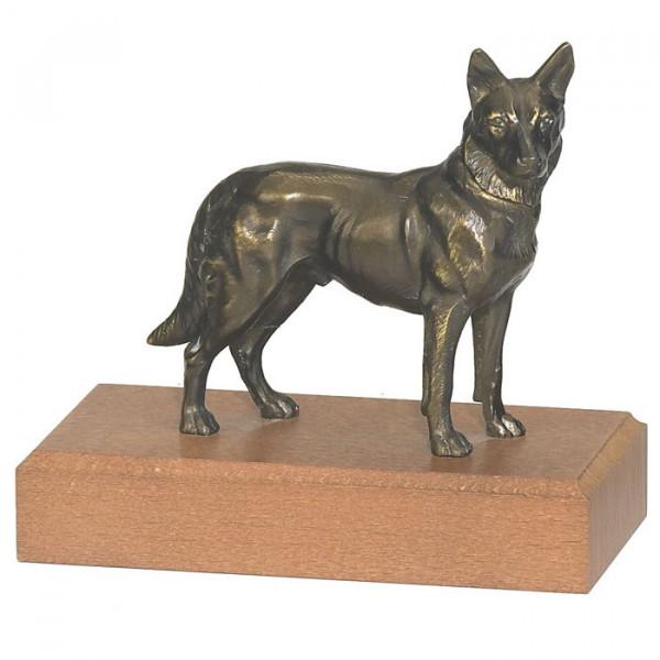 Edle Figur Schäferhund Hundeführer Sportehrung Pokal