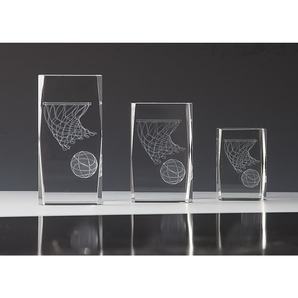 Quader Kristallglas Basketball Virginia