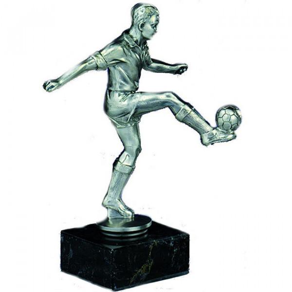 Sport Figur Fußballer Torschütze Herren Pokal Hochwertig Gefertigt