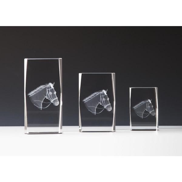 Quader Kristallglas Reiten Ella