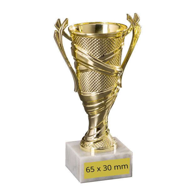 Ständer-Trophäe Sportpokal Cuppa Gold
