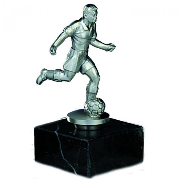 Sieges Figur Fußball Herren Auszeichnung Ehrung Edle Metalloptik