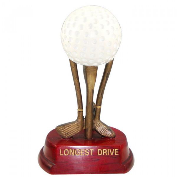 Figur Golf Ball Verein Champion Cup Trophäe Exklusiv Gefertig