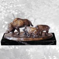 """Wildschwein """"Bache mit Frischlingen"""" - Tiergruppe"""