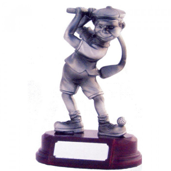 Cartoon Figur Golf Pokal Herren
