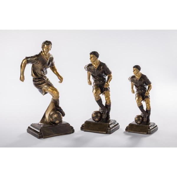 Fußball Pokal Torschuß