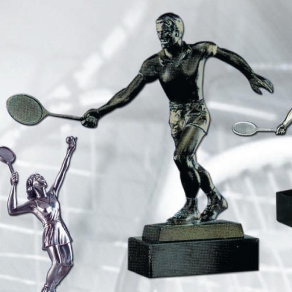 Sieger Figur Tennis Badminton Herren Pokal Sportehrung