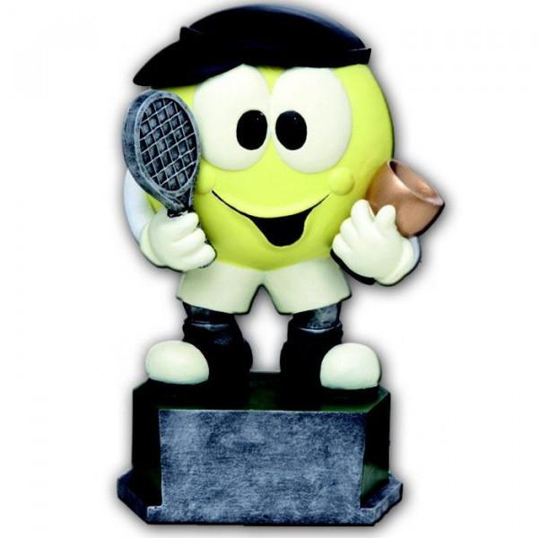 Figur Tennis Kinder Jugend Verein Sporttrophäe Champion