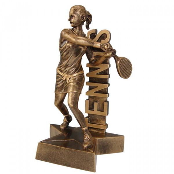 Sport Figur Tennis Damen Siegerpokal Wimbledon Exklusives