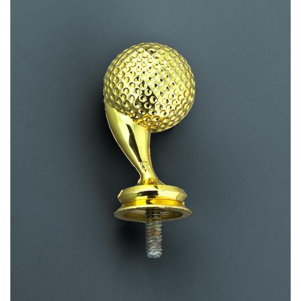 Golfballpokal Gold