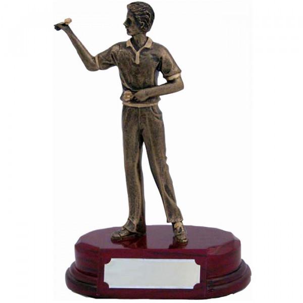 Sport Figur Dart Verein Herren Siegerpokal Auszeichnung