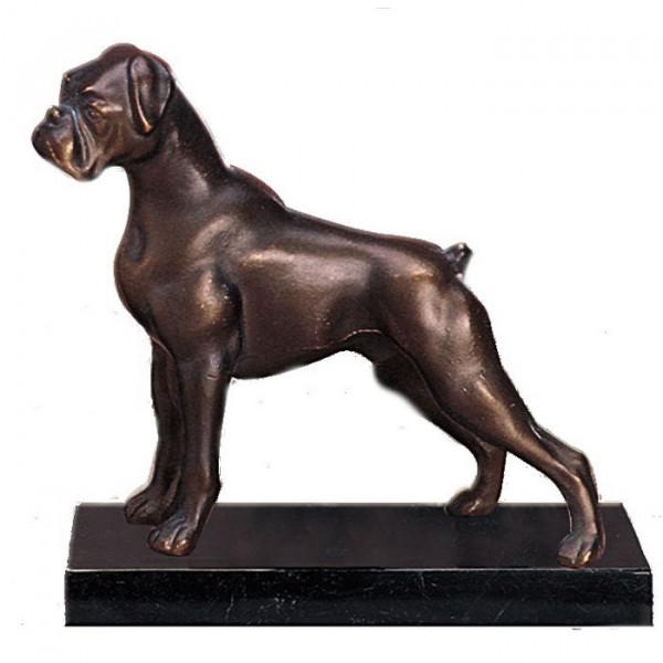 Hochwertige Figur Boxer Hund Wachhund Ehrenpreis Pokal