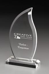 """Kristallglas Award """"Flame"""""""