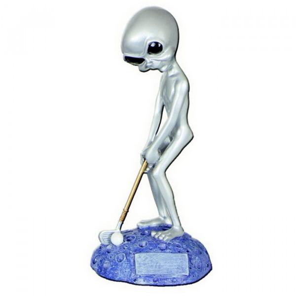 Sportfigur Alien Golf Verein Siegerauszeichnung