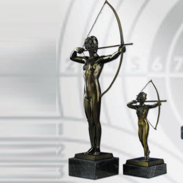 Figur Göttin Diana Jagd Schützenverein Siegerehrung Pokal