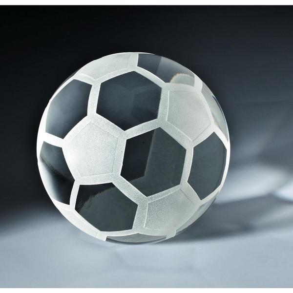 "Kristallglas Glaskugel ""Fußball"""