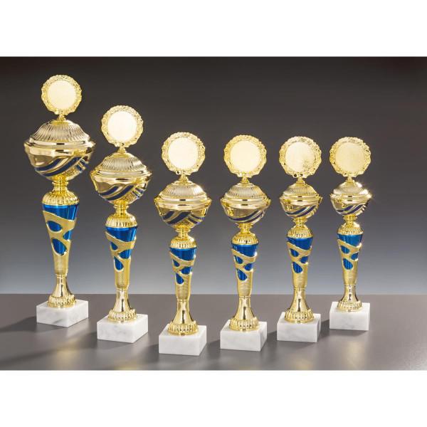 Pokal Gold-Blau Carolin
