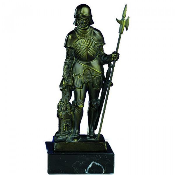 Klassische Figur St Florian Schutzpatron Feuerwehr Ehrung Trophäe