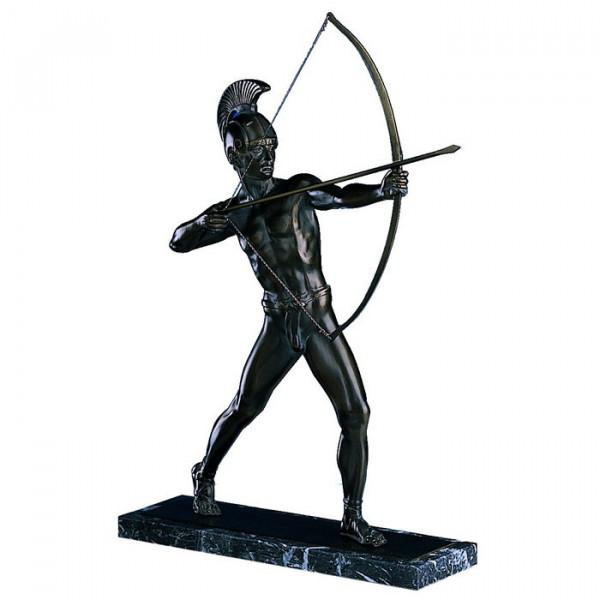 Figur Bogenschütze Griechischer Gladiator Ehrung Edles